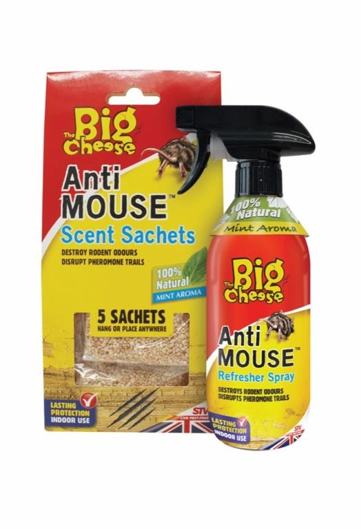 The Big Cheese-Anti-Rodent Sachets