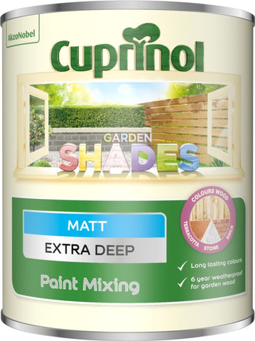 Cuprinol-Garden Shades Extra Deep Matt Paint Mixing