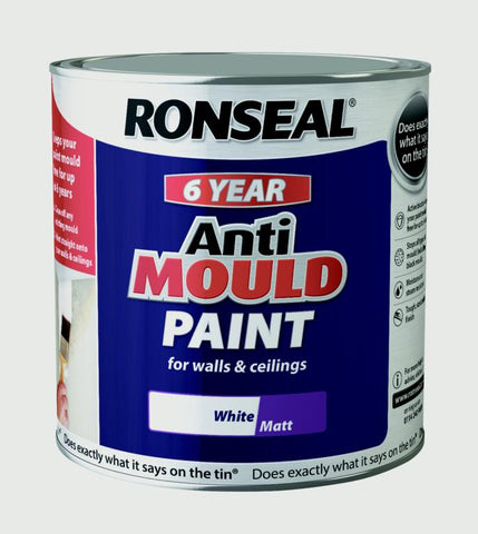 Ronseal-6 Year Anti Mould Paint 2.5L