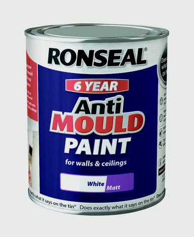Ronseal-6 Year Anti Mould Paint 750ml