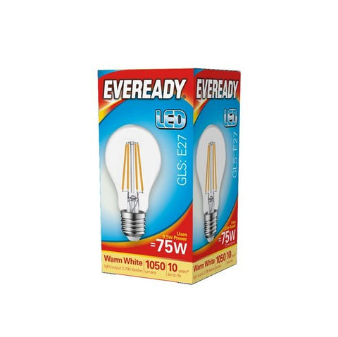 Eveready-LED Filament GLS E27 1050LM ES