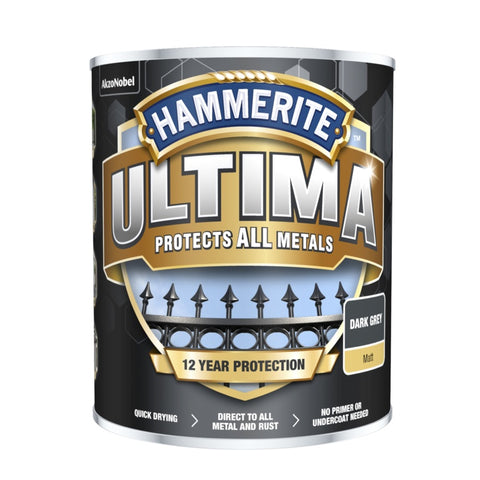 Hammerite-Ultima Matt All Metal Paint
