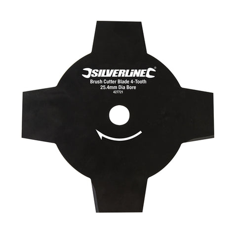 Silverline-Brush Cutter Blade 4-Tooth