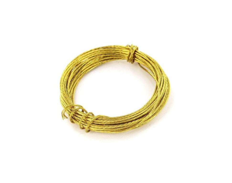 Securit-Picture Wire Brass