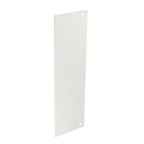 Securit-Aluminium Finger Plate Satin