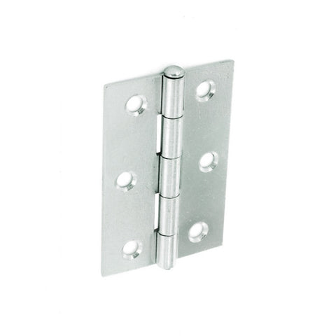 Securit-Loose Pin Butt Hinges Zinc Plated (Pair)