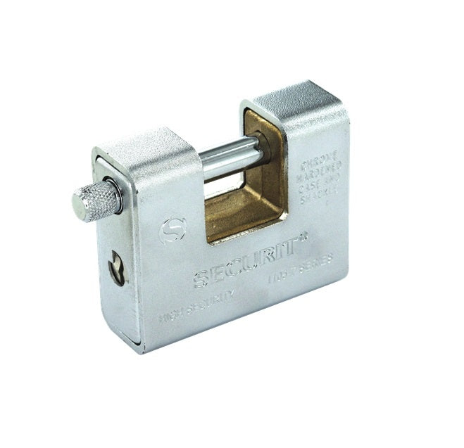 Securit-Armoured Padlock Stainless Steel