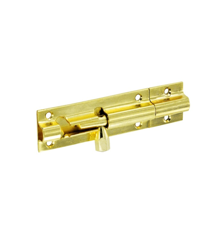 "Securit-Brass Door Bolt 3"" Wide"