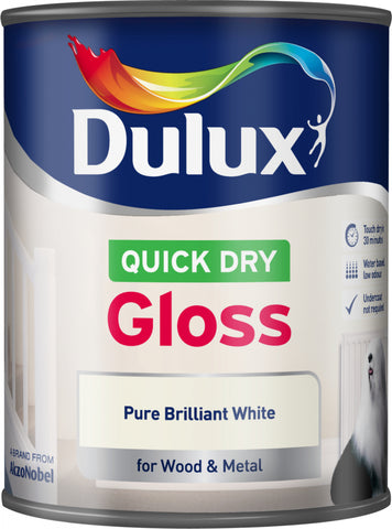 Dulux-Quick Dry Gloss 750ml