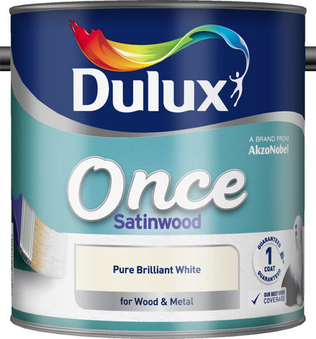 Dulux-Once Satinwood 2.5L