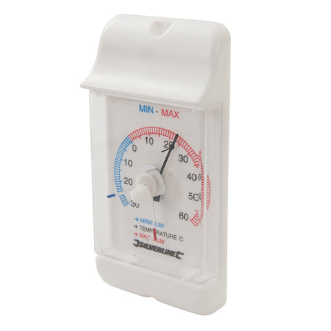 Silverline-Min/Max Dial Thermometer