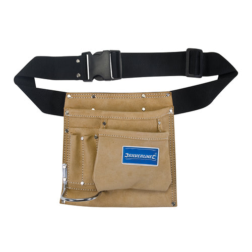 Silverline-Nail & Tool Pouch Belt 5 Pocket