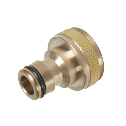 Silverline-Tap Connector Brass