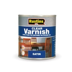 Rustins-Polyurethane Satin Varnish 250ml