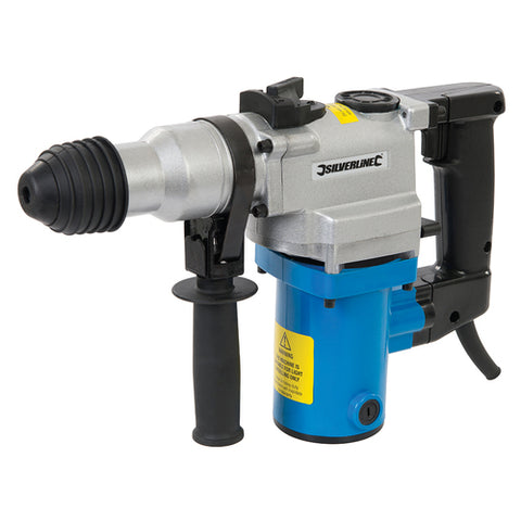Silverline-DIY 850W SDS Plus Hammer Drill