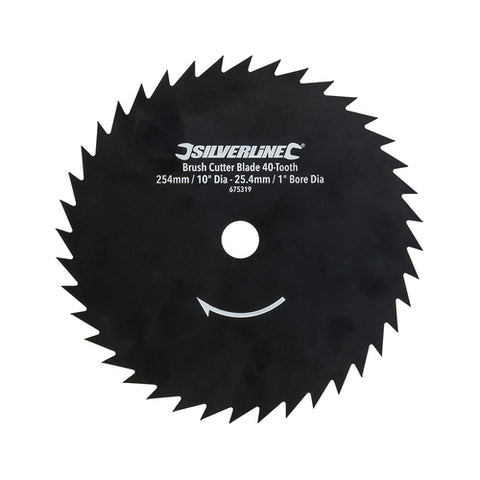 Silverline-Brush Cutter Blade 40-Tooth