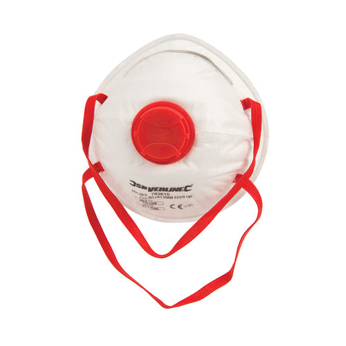 Silverline-Moulded Valved Face Mask FFP3 NR