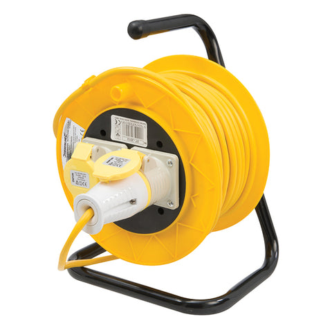 Powermaster-Cable Reel 16A 110V Freestanding