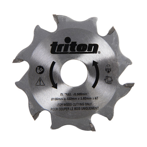 Triton-Biscuit Jointer Blade 100mm