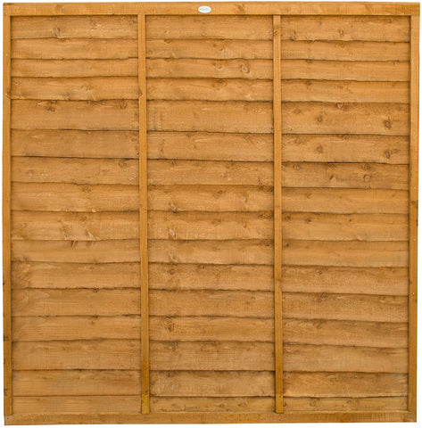Sid Telfers  Over Lap Fence Panel 6ft x 3ft, 6ft x 4ft, 6ft x 5ft, 6ft x 6ft - sidtelfers diy & timber