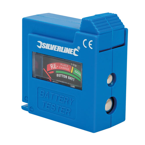 Silverline-Compact Battery Tester