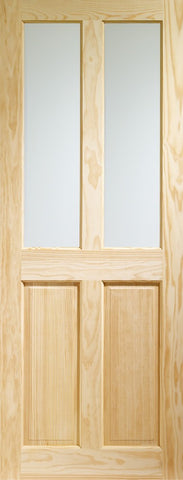Victorian Unglazed Internal Clear Pine Door