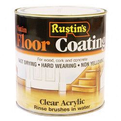 Rustins-Quick Dry Acrylic Floor Coating Satin