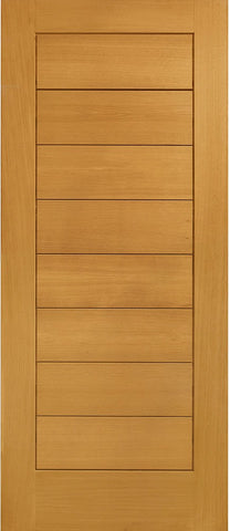 "Modena Pre-Finished External Oak Door -1981 x 838 x 44mm (33"")"