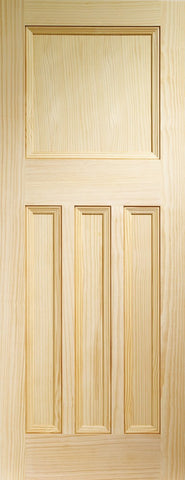 Vine DX Internal Vertical Grain Clear Pine Door -