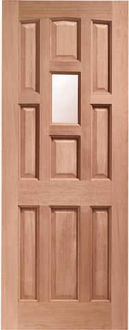 York Single Glazed External Hardwood Door (Dowelled) with Obscure Glass