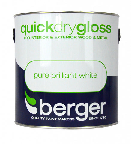 Berger-Quick Dry Gloss 2.5L