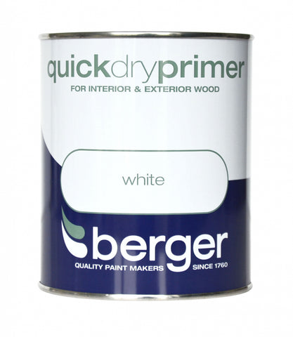 Berger-Quick Dry Primer 750ml