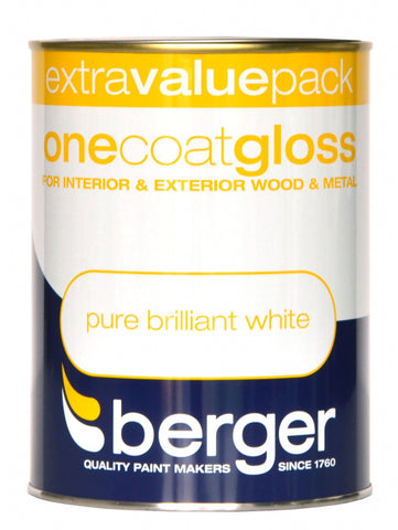 Berger-One Coat Gloss 1.25L