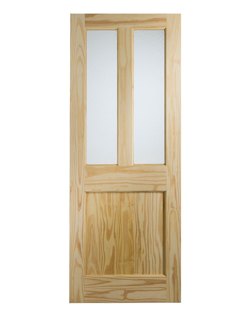 Malton External Clear Pine Door (Dowelled) with Flemish Glass -