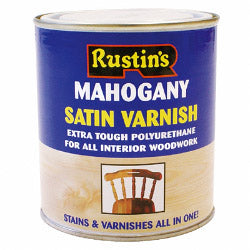 Rustins-Polyurethane Satin Varnish 500ml