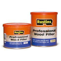 Rustins-Professional Wood Filler 250g
