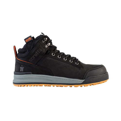 Scruffs-Switchback Safety Boot Black