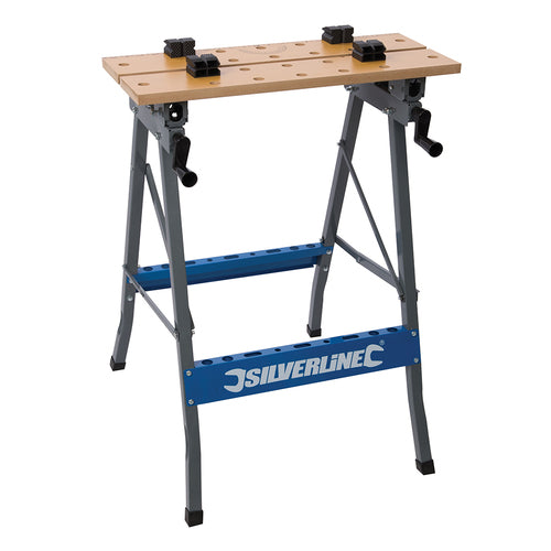 Silverline-Heavy Duty Flip-Top Workbench