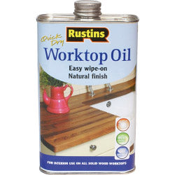 Rustins-Quick Dry Worktop Oil