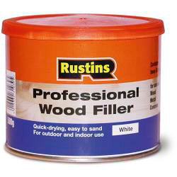 Rustins-Professional Wood Filler 500g