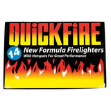 FIRE LIGHTERS LONG BURNING FIRELIGHTERS QUICKFIRE FLAME FAST BARBECUE BBQ OVEN