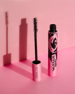 Image of the Warrior Princess Mascara with a Pink Background