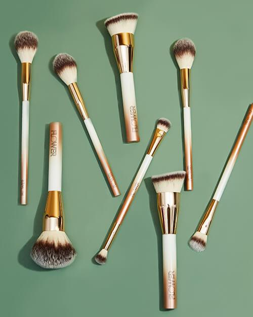 Various Makeup Brushes by Flower Beauty