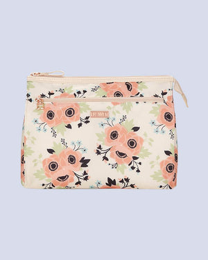 In Bloom Cosmetic Zip Pouch