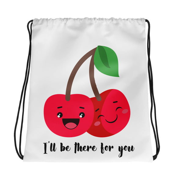 There for you Drawstring bag