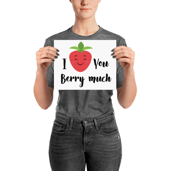 Berry Much Poster