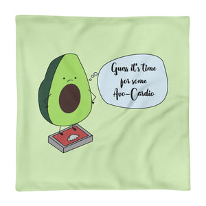AvoCardio Colorful Pillowcase