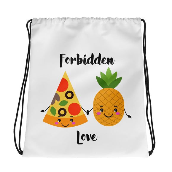 Forbidden Love Drawstring bag