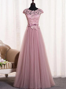 pink junior prom dress