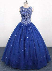 blue sweet 16 dresses